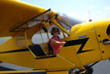 Dayle in Piper Cub