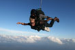 Dayle skydiving